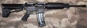 Colt AR15 mated with CMMG Sierra .22lr Upper